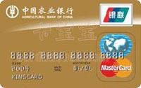 農業銀行金穗雙幣貸記卡 金卡