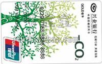 中國低碳銀聯人民幣信用卡 普卡(綠葉版)