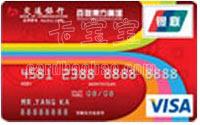 交通銀行百聯東方信用卡 普卡(VISA)