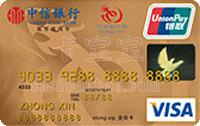 中信�y行���旅行信用卡 金卡(VISA)