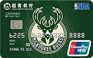招商銀行NBA球隊信用卡-雄鹿 金卡(銀聯)
