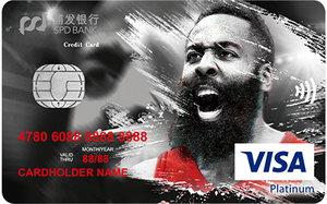 浦�l�y行哈登信用卡-VISA版 白金卡