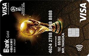 光大銀行世界杯主題信用卡 金卡