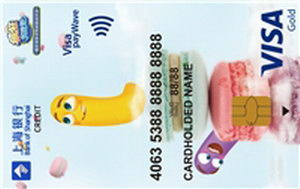 上海銀行瘋狂貪吃蛇VISA卡—貪吃版