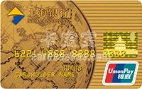 上海�y行地球卡�y�信用卡 金卡