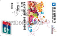 深圳發展銀行香港旅游卡 普卡