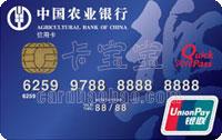 農業銀行樂卡(帶電子現金普卡)(銀聯)